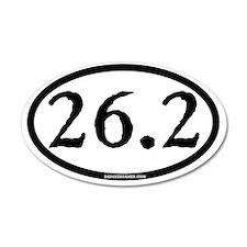26.2 - plain - ticonderoga - Wall Sticker