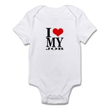 """I Love My Job"" Infant Bodysuit"