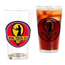 Wing Tchun Do Logo Drinking Glass