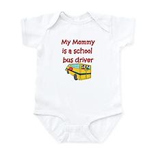 My Mommy Is A School Bus Driv Onesie
