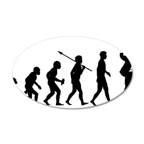 Music-Conductor 35x21 Oval Wall Decal