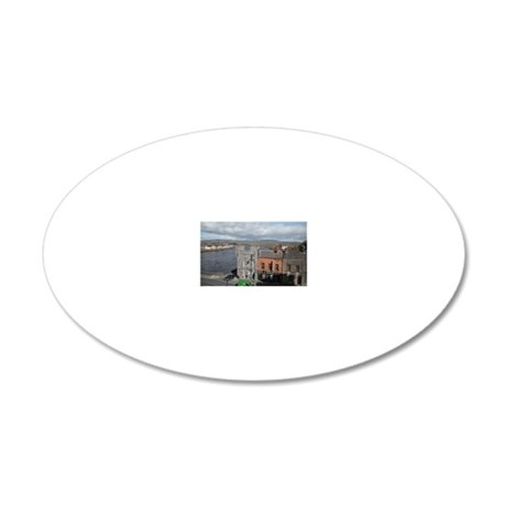 Limerick and the Shannon 20x12 Oval Wall Decal