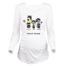 swat Long Sleeve Maternity T-Shirt