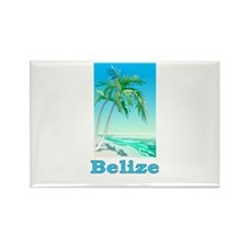 Cute Belize city Rectangle Magnet (100 pack)