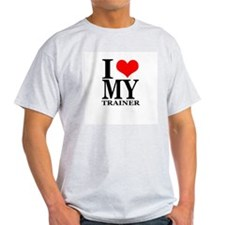 """I Love My Trainer"" T-Shirt"