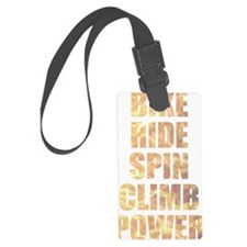 Bike Ride Power Luggage Tag
