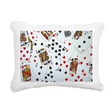 Playing Cards Rectangular Canvas Pillow