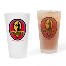 WTD Red Drinking Glass