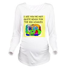 cards Long Sleeve Maternity T-Shirt