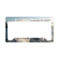 Sydney Harbour Waves License Plate Holder