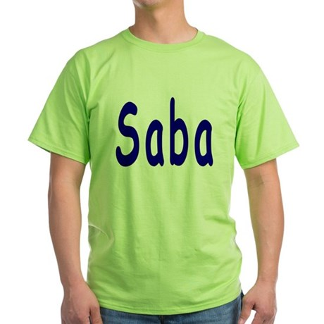 Saba Green T-Shirt