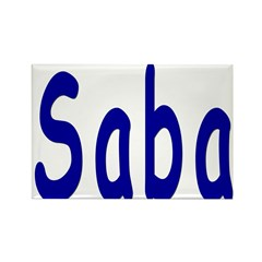 Saba Rectangle Magnet (100 pack)