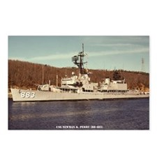 uss newman k. perry large Postcards (Package of 8)
