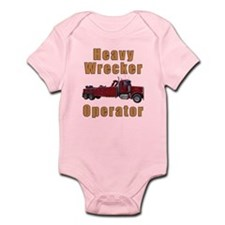 Heavy Tow Truck Infant Bodysuit