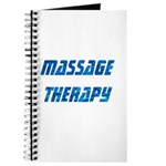 Massage Therapy Water Journal
