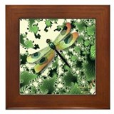 Dragonfly 5 Framed Tile