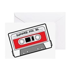 mix tape Greeting Card