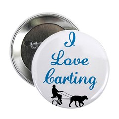 "I Love Carting 2.25"" Button (100 pack)"