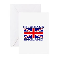 Cute Union jack vintage Greeting Cards (Pk of 10)