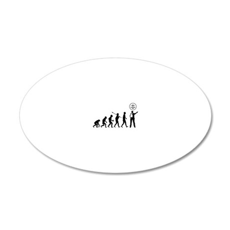 Lawyer-Attorney2 20x12 Oval Wall Decal