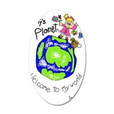 Tytys Planet Color Cover Wall Decal