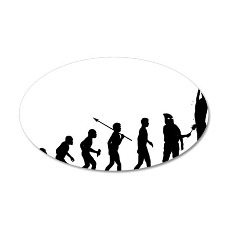Torturer 35x21 Oval Wall Decal