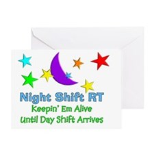 Night Shift RT 3 Greeting Card