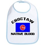 Choctaw Native Blood Bib