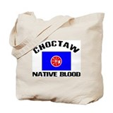 Choctaw Native Blood Tote Bag