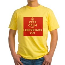 Keep Calm Longboard T