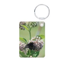 Black Swallowtail Butterfl Keychains