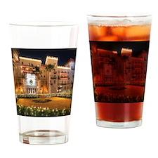 Monica Lights SQ Drinking Glass