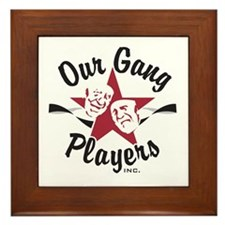 Our Gang Framed Tile