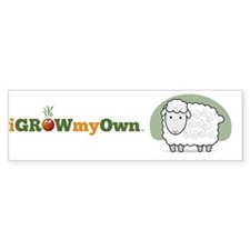 iGrowMyOwn: Sheep Bumper Sticker