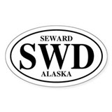 Seward Oval Decal