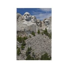 USA, South Dakota, Mount Rushmore Rectangle Magnet
