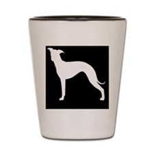 italgreyhoundpatch Shot Glass