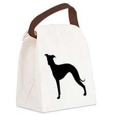 Italian Greyhound Canvas Lunch Bag