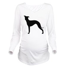 Italian Greyhound Long Sleeve Maternity T-Shirt