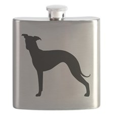 Italian Greyhound Flask