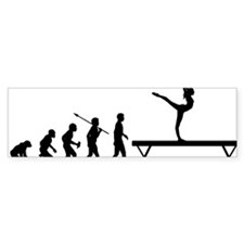 Gymnastic---Balance-Beam Bumper Sticker
