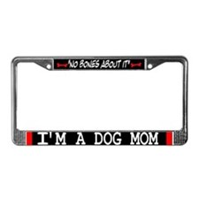 Dog Mom Gifts License Plate Frame