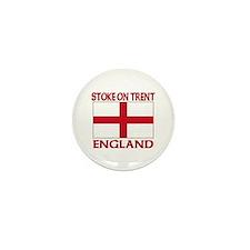Cute Union jack vintage Mini Button (100 pack)