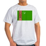 Turkmenistan Flag T-Shirt
