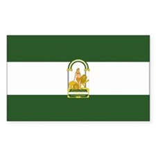 Andalusia Rectangle Decal