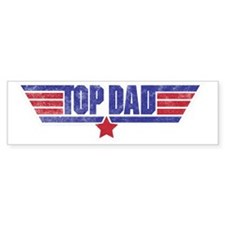 top dad Bumper Stickers