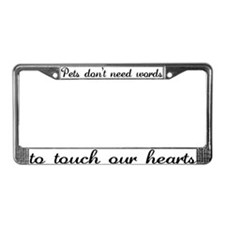 Touch Your Heart v4 License Plate Frame