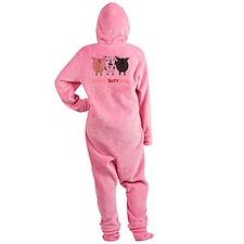 PigsTransNew Footed Pajamas