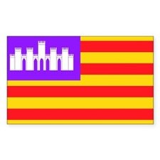 Baleares Rectangle Decal