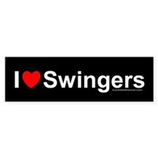 Swingers Bumper Bumper Sticker